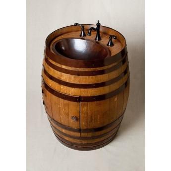 tonneau lave main mahogany art. Black Bedroom Furniture Sets. Home Design Ideas