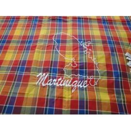 Nappe  madras Martinique