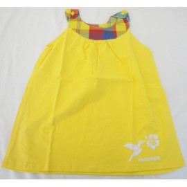Robe fillette Martinique jaune