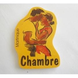 Plaque Chambre Martinique