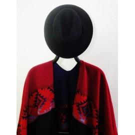 Chapeau feutrine noir