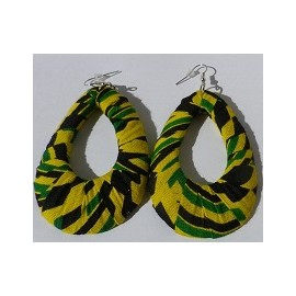 Boucles wax jaune