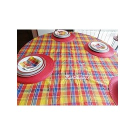 Nappe  madras Martinique