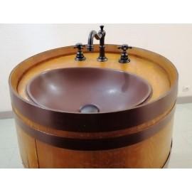 lavabo tonneau