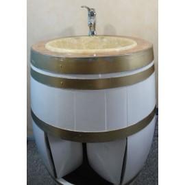 Tonneau lavabo