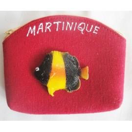 Porte-Monnaie Martinique Poisson