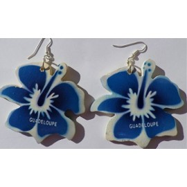 Boucles Hibiscus Guadeloupe