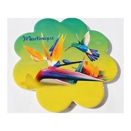 Dessous plat colibri