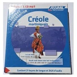 Créoles Martiniquais Livre+cd