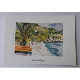 Carte postale Guadeloupe