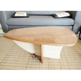 Table basse voilier